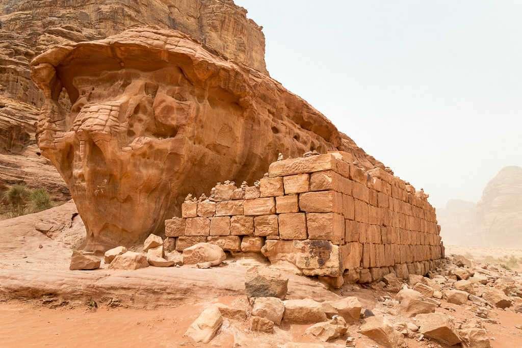 Casa de Lawrence de Arabia, Wadi Rum, Jordania