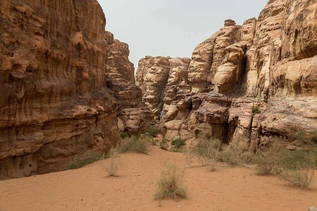 Desierto blanco, Wadi Rum, Jordania