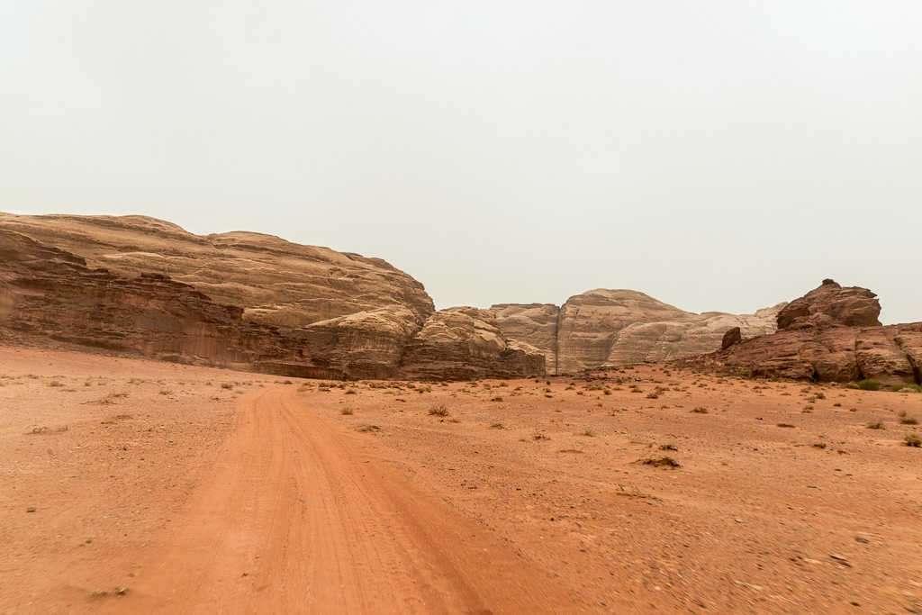 Desierto rojo, Wadi Rum, Jordania
