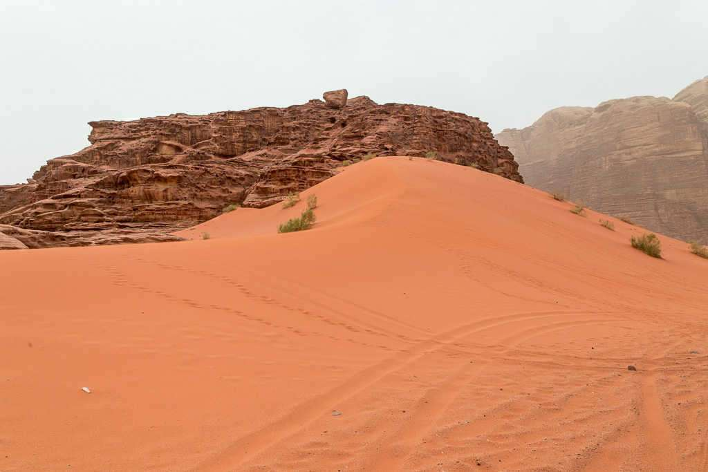 Duna roja, Wadi Rum, Jordania