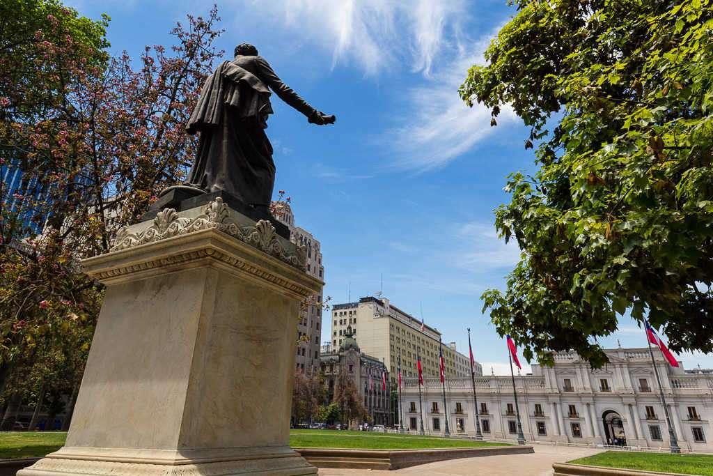 Palacio de la Moneda, Santiago de Chile