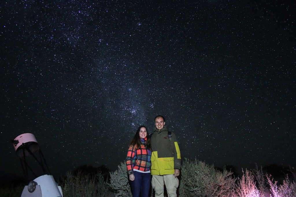 Tour astronómico cerca de San Pedro de Atacama, Chile