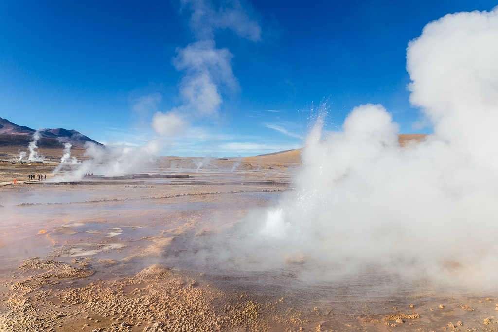 Géiseres del Tatio, Atacama, Chile