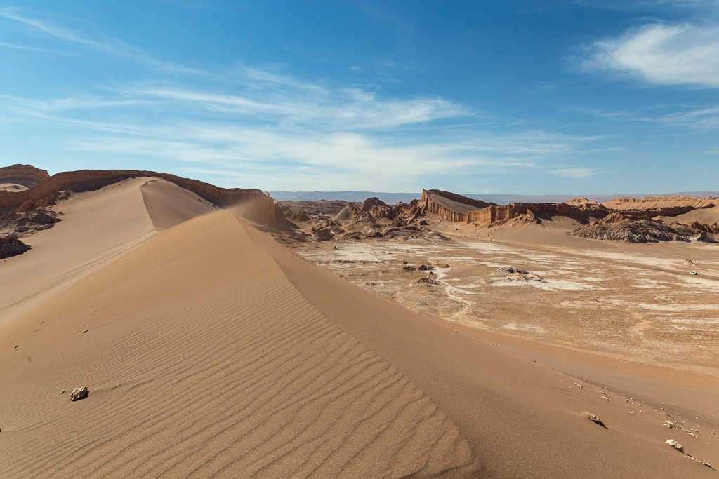 Gran duna en el valle de la Luna, Atacama, Chile