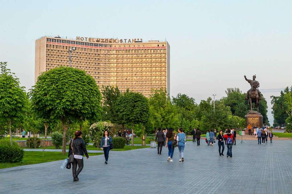 Hotel Uzbekistán, Tashkent, Uzbekistán