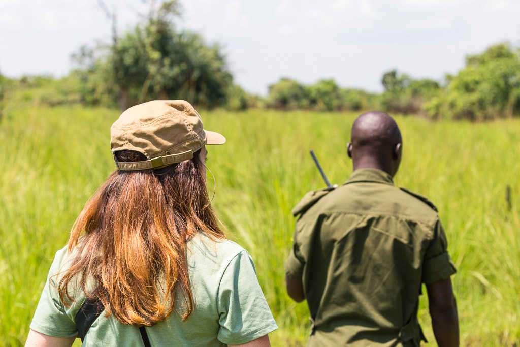 Buscando rinocerontes en el Ziwa Rhino Sanctuary (Uganda)