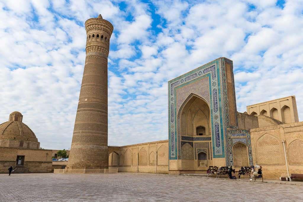 Mezquita Kailon, Bujará, Uzbekistán