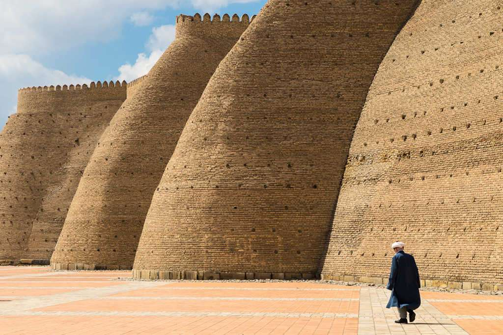 Murallas, Bujará, Uzbekistán