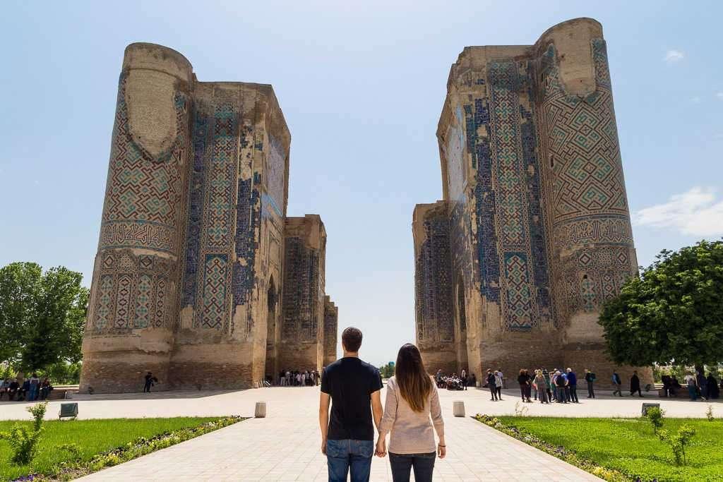 Palacio Palacio Ak-Saray de Shakhrisabz, Uzbekistán