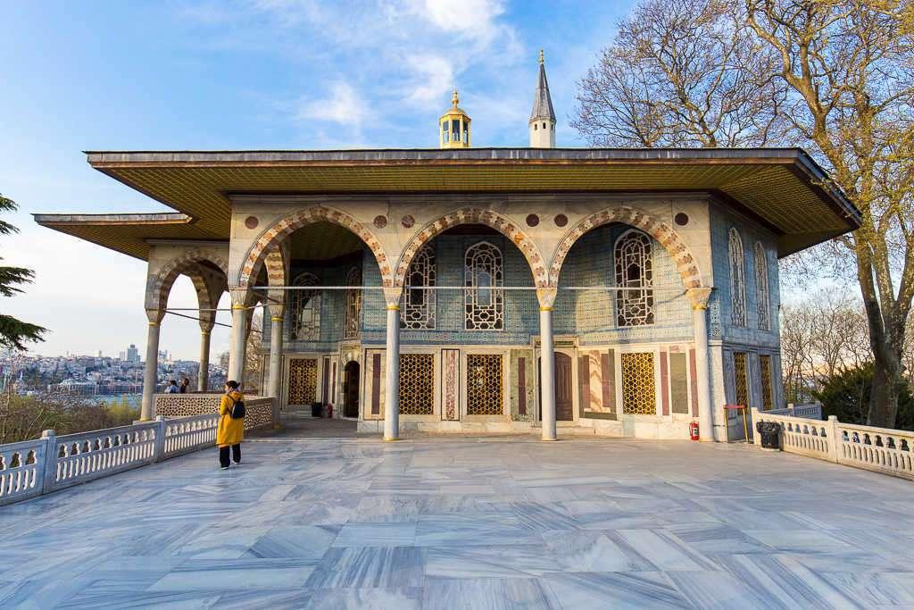 Quiosco Baghdad del Palacio Topkapi, Estambul, Turquía
