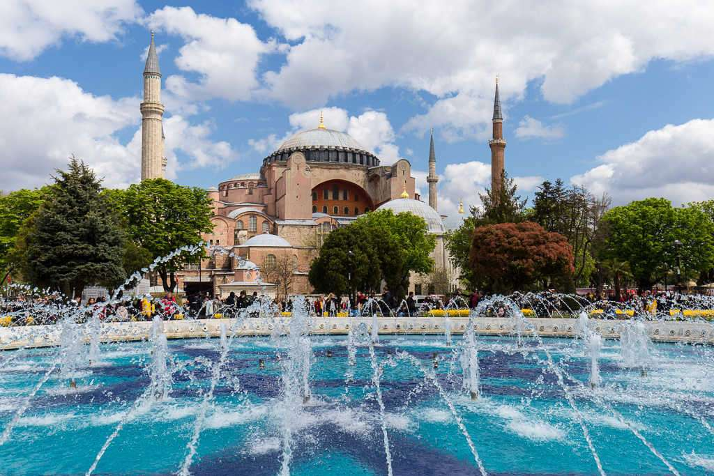 Santa Sofía, Estambul, Turquía