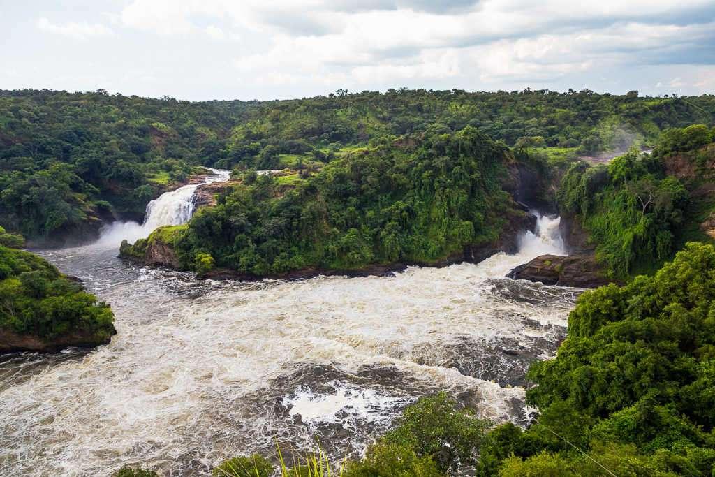 Cataratas Murchison en el Parque Nacional Murchison Falls (Uganda)