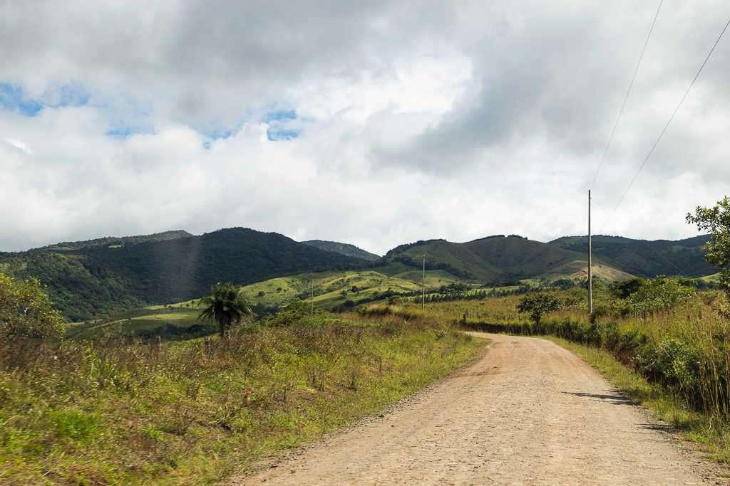 Camino de tierra desde Bijagua hasta Arenal, Costa Rica