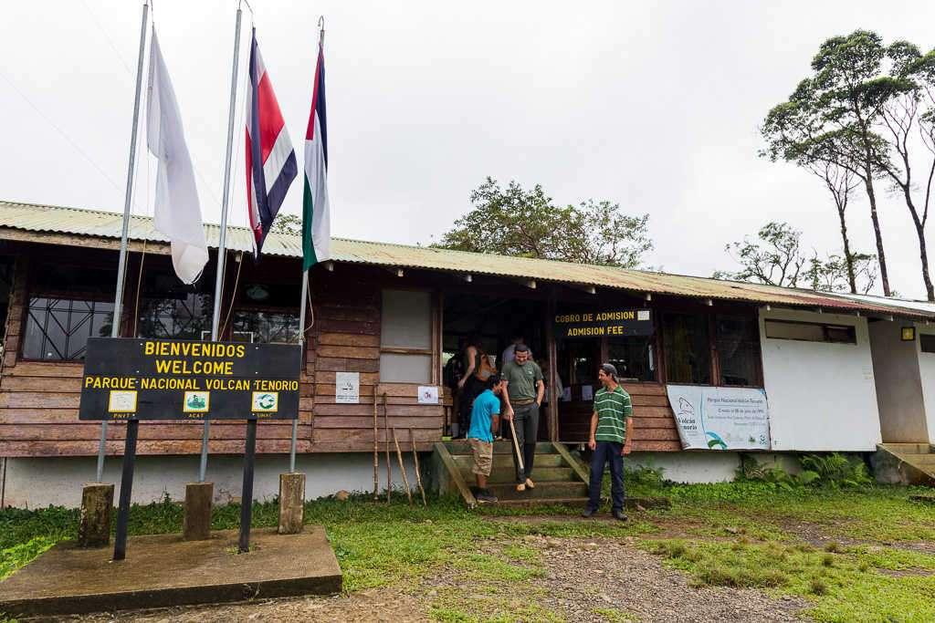 Oficinas del parque nacional Volcán Tenorio, Costa Rica