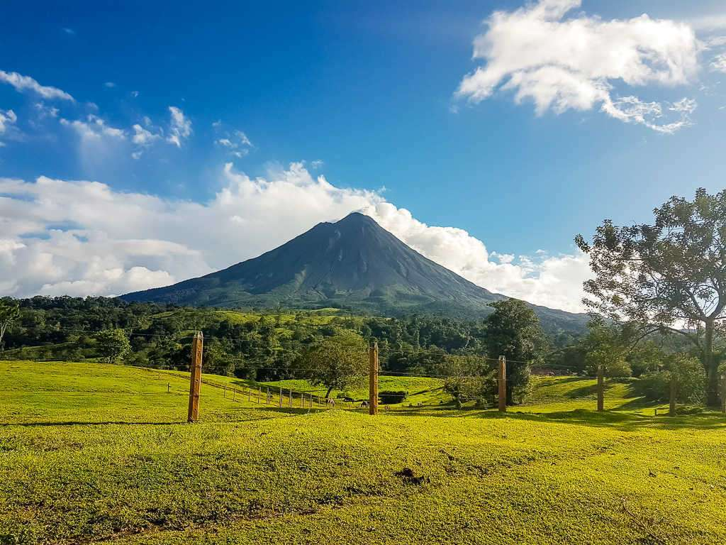 Panorámica del volcán Arenal, Costa Rica