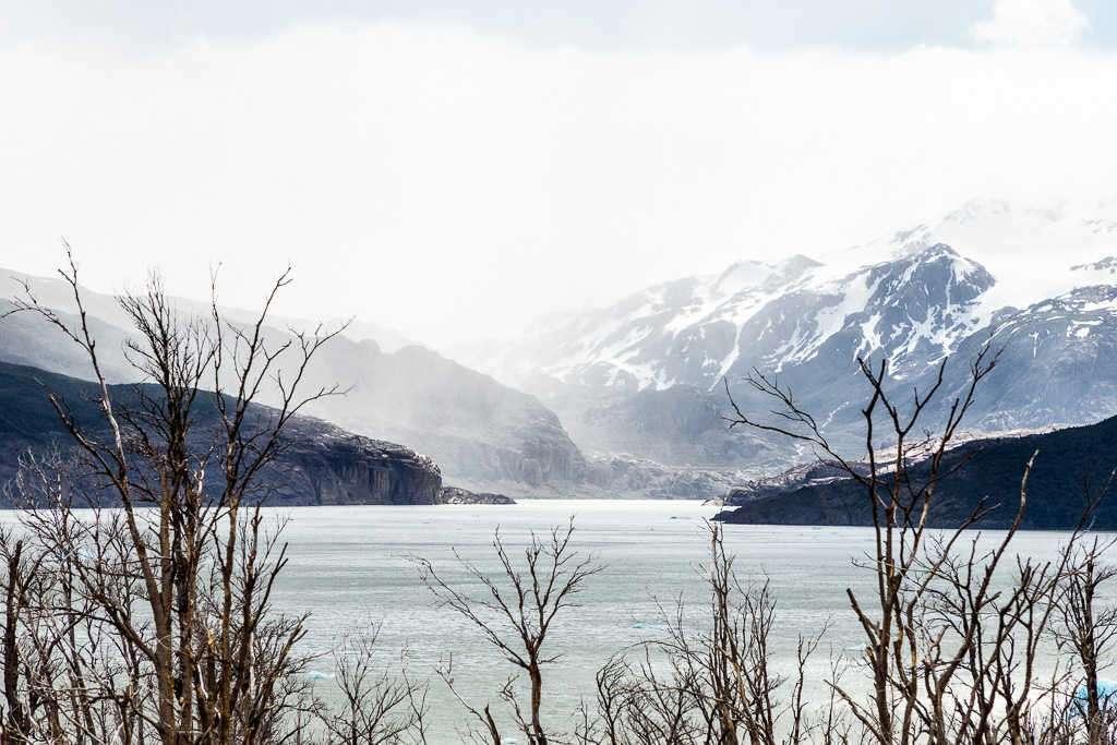 Lago y glaciar Grey, Torres del Paine, Chile