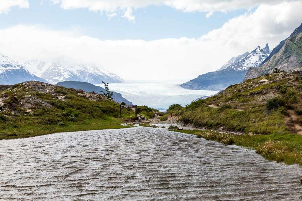 Laguna Los Patos y glaciar Grey, Torres del Paine, Chile