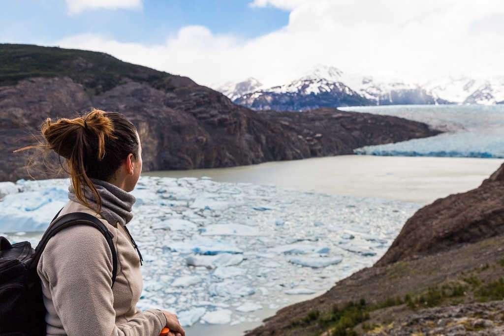 Mirador al glaciar Grey, Torres del Paine, Chile