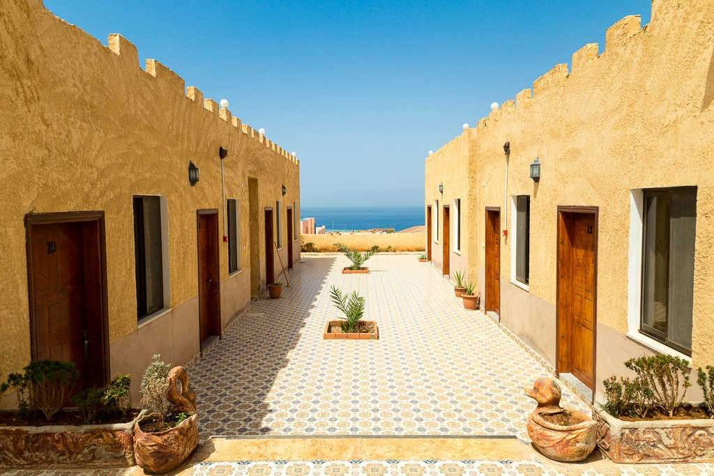 Arab Divers Resort en Aqaba, mar Rojo, Jordania
