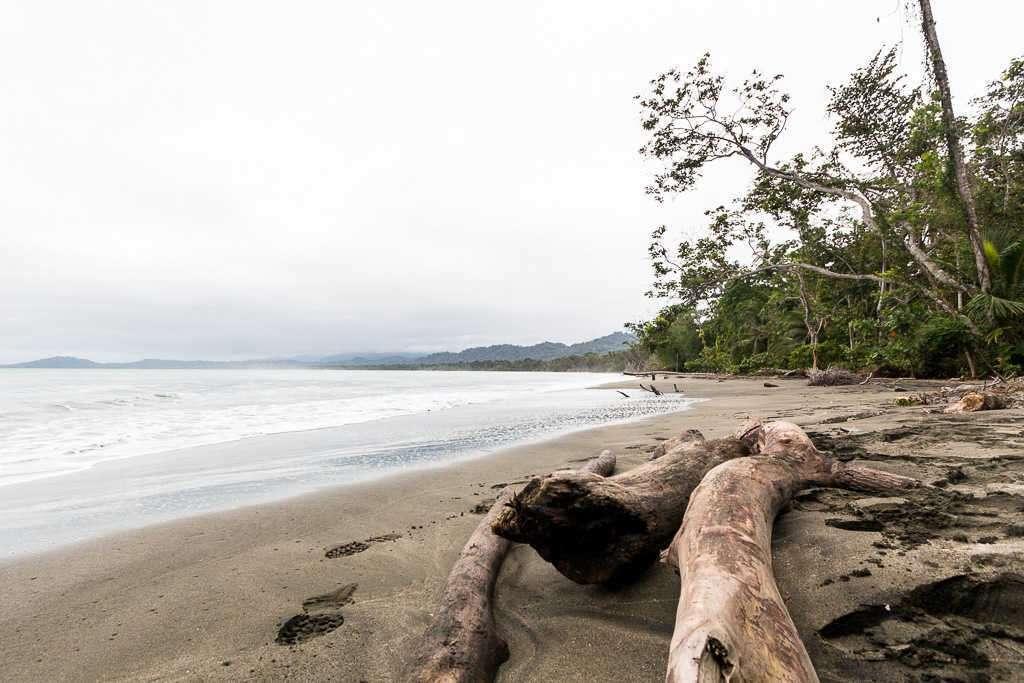 Playa Puerto Vargas, parque nacional Cahuita, Costa Rica