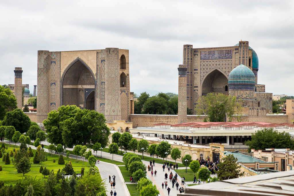 Mezquita Bibi Khanym, Samarcanda, Uzbekistán