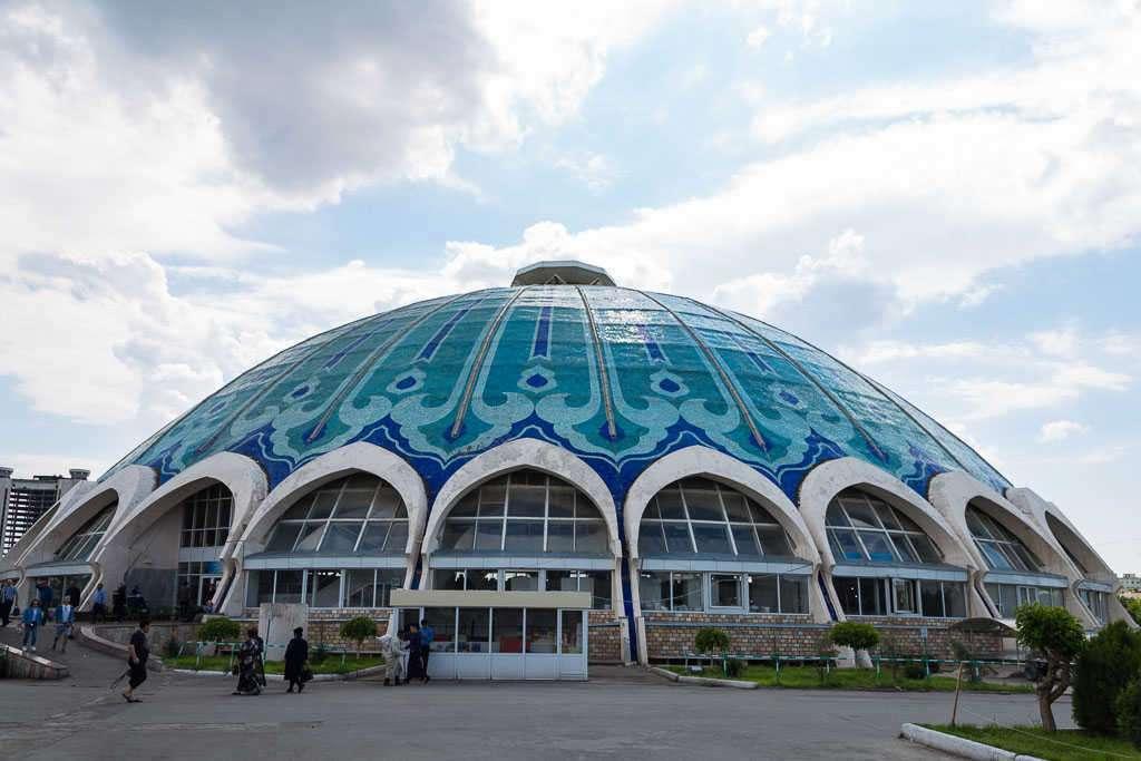 Bazar Chorsu, Tashkent, Uzbekistán