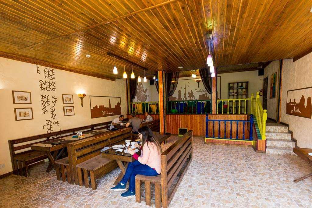 Comedor del Sunrise Caravan Stay – Boutique Guest House, Tashkent, Uzbekistán