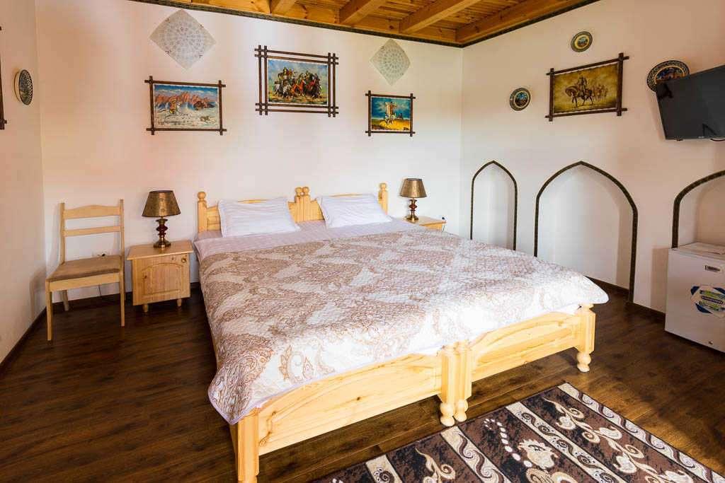 Habitación del Rabat Boutique Hotel, Samarcanda, Uzbekistán